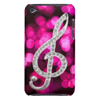 Piano musical symbol barely there iPod cases