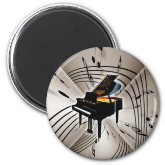 Piano Notes and Staff Magnet