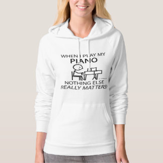 Piano Nothing Else Matters Hoodie