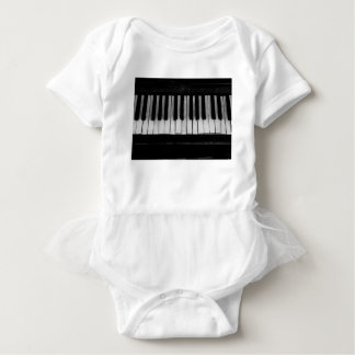 Piano Old Grand Piano Keyboard Instrument Music Baby Bodysuit