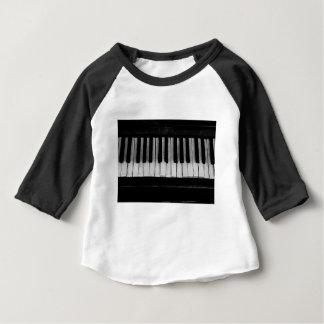 Piano Old Grand Piano Keyboard Instrument Music Baby T-Shirt
