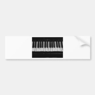 Piano Old Grand Piano Keyboard Instrument Music Bumper Sticker