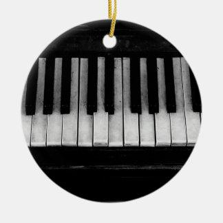 Piano Old Grand Piano Keyboard Instrument Music Ceramic Ornament