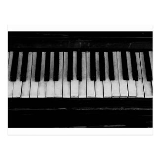 Piano Old Grand Piano Keyboard Instrument Music Postcard