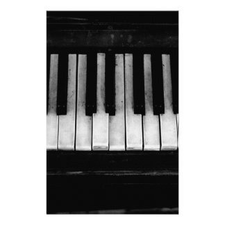 Piano Old Grand Piano Keyboard Instrument Music Stationery