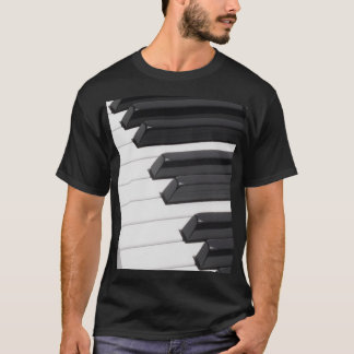 Piano or Organ Keyboard Keys T-Shirt
