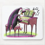 pIaNo pEnGuInS Mouse Pad