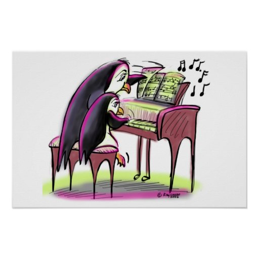 pIaNo pEnGuInS Poster
