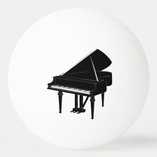 Piano Ping Pong Ball