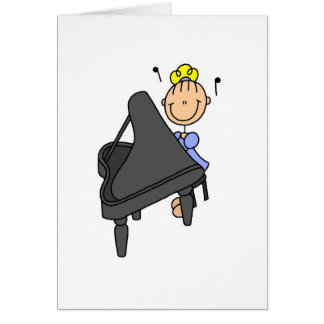 Piano Player Card