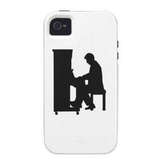 Piano player iPhone 4/4S cases