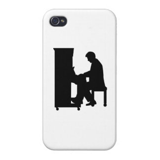 Piano player iPhone 4 case