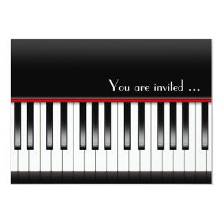Piano Recital Invite