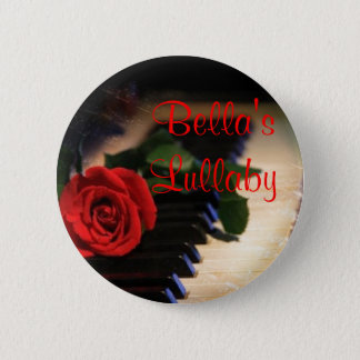 piano, 's Lullaby 2 Inch Round Button