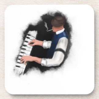 Piano Singer Drink Coasters