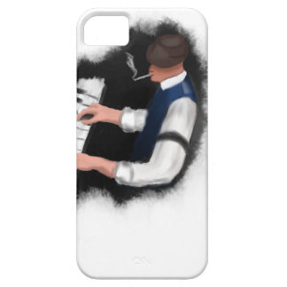 Piano Singer iPhone 5 Cases