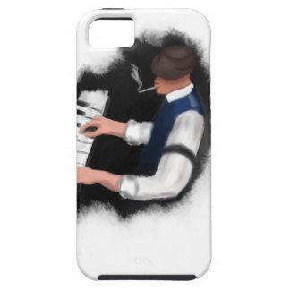 Piano Singer iPhone 5 Cases