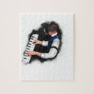 Piano Singer Jigsaw Puzzle