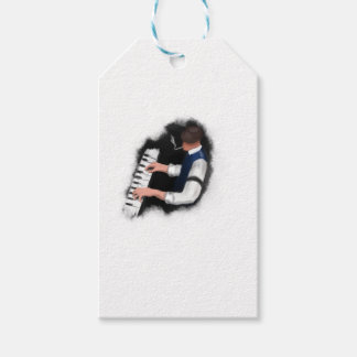 Piano Singer Pack Of Gift Tags