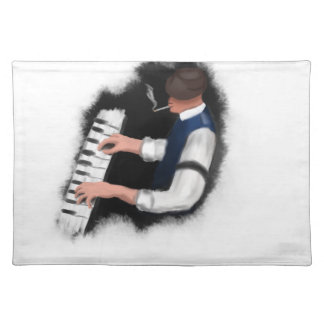Piano Singer Place Mat