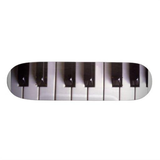 Piano Skateboard Deck