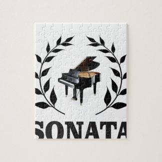 piano sonata art baby jigsaw puzzle