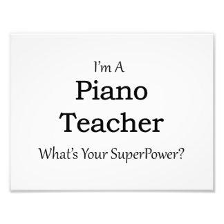 Piano Teacher Art Photo