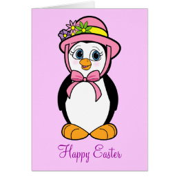 Easter penguins gifts on zazzle ca piano teacher easter card negle Image collections