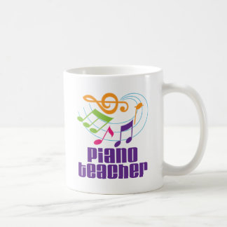 Piano Teacher Gift Coffee Mug