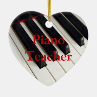 Piano Teacher Ornament