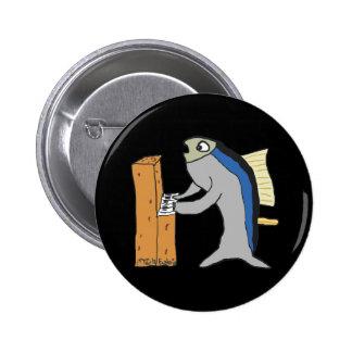 Piano Tuner 2 Inch Round Button