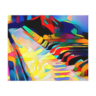 Piano - Wrapped Canvas Art