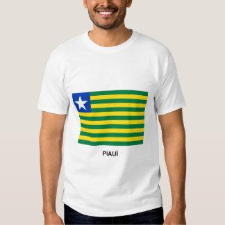 Piauí, Brazil Flag Tshirts