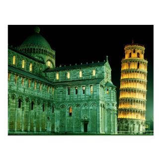 Piazza dei Miracoli & The Leaning Tower of Pisa Postcard