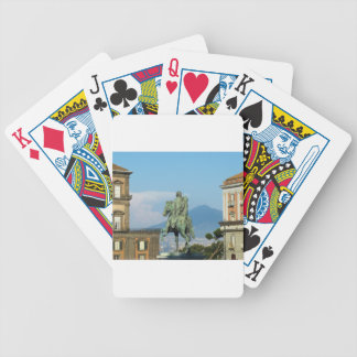 Piazza del Plebiscito, Naples Bicycle Playing Cards
