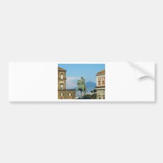 Piazza del Plebiscito, Naples Bumper Sticker