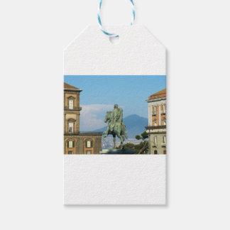 Piazza del Plebiscito, Naples Gift Tags