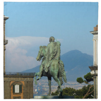 Piazza del Plebiscito, Naples Napkin