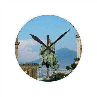 Piazza del Plebiscito, Naples Round Clock