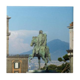 Piazza del Plebiscito, Naples Tile