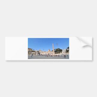 Piazza del Popolo, Rome, Italy Bumper Sticker