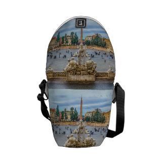 Piazza del Popolo, Rome, Italy Commuter Bag