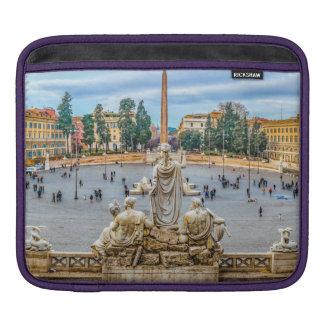 Piazza del Popolo, Rome, Italy iPad Sleeve