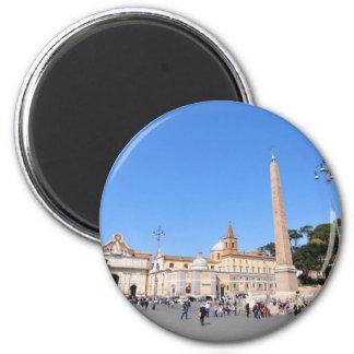 Piazza del Popolo, Rome, Italy Magnet