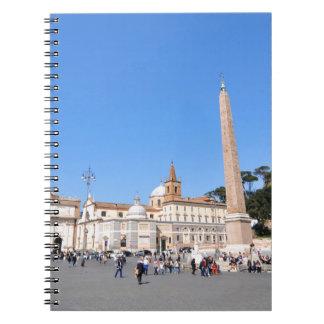 Piazza del Popolo, Rome, Italy Notebook