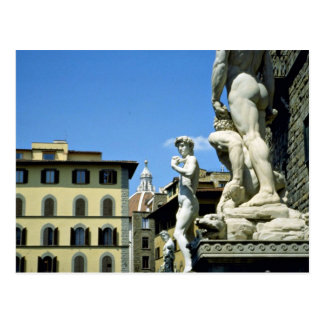 Piazza della Signoria, Florence, Italy Postcard