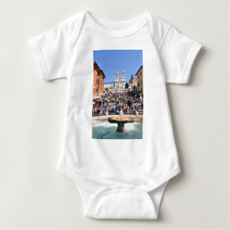 Piazza di Spagna, Rome, Italy Baby Bodysuit