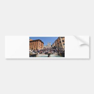 Piazza di Spagna, Rome, Italy Bumper Sticker