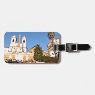 Piazza di Spagna, Rome, Italy Luggage Tag