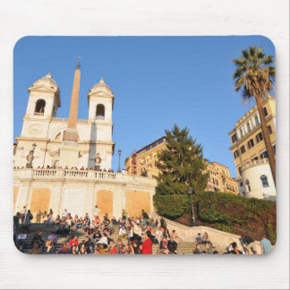 Piazza di Spagna, Rome, Italy Mouse Pad